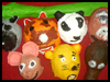 Animal Masks Crafts Project for Children