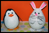 Paper Mache Bunny Crafts Project