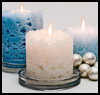 Ice Candle : Oatmeal Container Crafts Ideas for Kids