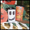 Ghost Windsock : Oatmeal Container Crafts Ideas for Kids