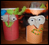 Oatmeal Cylinder Containers Crafts