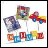 Personalized Photo Holder Crafts Activity for Kids