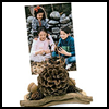 PineCone Photo Holder Craft for Kids