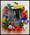 Puzzle   Frame  Puzzle Arts and Crafts Projects with Puzzles