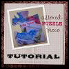 Altered   Puzzle Pieces Craft for Kids