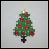 Puzzle   Piece Christmas Tree Ornament