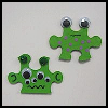 Puzzle   Piece Aliens  Puzzle Arts and Crafts Projects with Puzzles