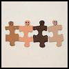 Puzzle   People Craft  Puzzle Arts and Crafts Projects with Puzzles