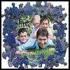 Recycled   Puzzle Piece Photo Frame