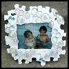 Bubble Frame : Crafts with Puzzle Pieces for Kids