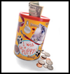 Coffee    Can Money Bank  : Coffee Can Crafts for Kids