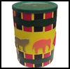African    Drum   : Crafts with Coffee Cans for Kids