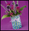 Candy    Stick Vase   : Crafts with Coffee Cans for Kids