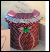 Coffee    Can Card Holder   : Crafts with Coffee Cans for Kids