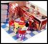 Doll   House Furniture  : Crafts Ideas with Juice Bottles