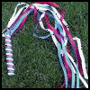 Handheld Ribbon Streamers Crafts Activity for Kids