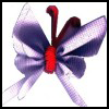 Magnet ribbon butterfly