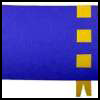 Blue & Gold Ribbon Place Mats Arts & Crafts Idea