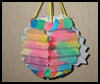 Paper Ribbon Lantern Crafts Activity