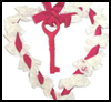 Key To My Heart Hangup Ribbons Heart Craft -