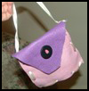 Felt Purse and Ribbons Crafts Project for Kids
