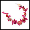 Candy Necklace with Ribbons Crafts Activity