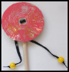 Chinese   Drum Craft  : Crafts Ideas with Shoelaces