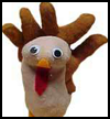 Stuffed   Thanksgiving Turkey Craft