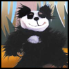Furry   Panda Sock Puppet   : Crafts with Socks Activities for Children