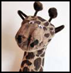 Giraffe   Sock Puppet   : Crafts with Socks Activities for Children