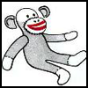 The   Red-Heel Sock Monkey