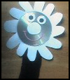CD   Daisy Puppet  : Sock Crafts Ideas for Kids