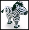 Zippy Zebra Soda Bottle Craft (Equus zippicus)
