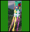 Spring Windsock from a Soda Bottle Craft for Kids