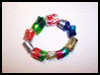 Make Beads from Recycled Soda Bottles Craft Idea for Kids