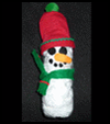 Indoor snowman from Soda Bottle Crafts Activity for Kids