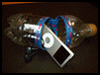 Make a Recycled Soda Bottle iPod Holder