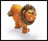 Friendly Soda Bottle Lion Craft for Kids