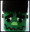 Tin   Can Frankenstein Halloween Decoration