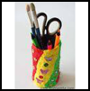 Soda Can Pencil Holders