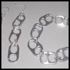 Soda   Cans Tab Earrings and Bracelet