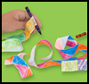 Simple,   Colorful streamers  : Making Streamers Instructions