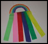 Rainbow   Streamers  : How to Make Streamers Crafts Activity for Children