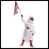 Astronaut     Costume  : Tray Crafts Ideas for Kids