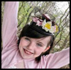 Flowers   Pillbox Hat  : Crafts with Trays for Children