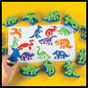 Foam   Stamp  : Crafts with Trays for Children