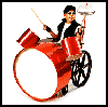 Rock     'n' Roll Drummer Costume