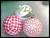 Christmas   Balls  : Wrapping Paper Arts and Crafts for Children