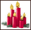 Cardboard     Candlesticks  : Wrapping Paper Arts and Crafts for Childrens