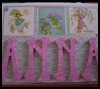 Baby   Name Art Canvas : Crafts with Wrapping Paper for Kids